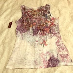 NWT Express Printed Tank Top Size Medium